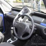 Tata Nano Twist interior blue