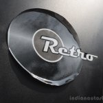 Tata Nano Twist retro sticker peeling