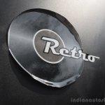 Tata Nano Twist retro sticker peeling