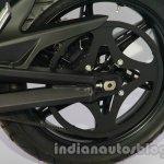 Terra Kiwami rear wheel detail