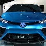 Toyota FCV Concept front fascia at NAIAS 2014