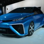 Toyota FCV Concept front three quarters right at NAIAS 2014