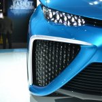 Toyota FCV Concept headlamp zoom at NAIAS 2014