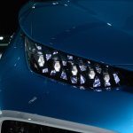 Toyota FCV Concept headlight at NAIAS 2014