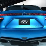Toyota FCV Concept rear at NAIAS 2014