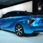 Toyota FCV Concept rear three quarters at NAIAS 2014