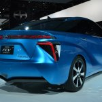 Toyota FCV Concept rear three quarters right at NAIAS 2014