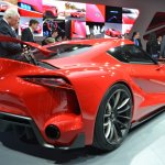 Toyota FT-1 exhaust at NAIAS 2014