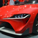 Toyota FT-1 front wing at NAIAS 2014