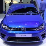 VW Golf R front at NAIAS 2014