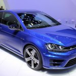 VW Golf R front three quarter at NAIAS 2014