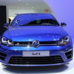 VW Golf R nose at NAIAS 2014