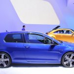 VW Golf R side at NAIAS 2014