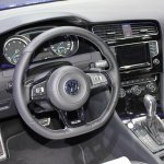 VW Golf R steering at NAIAS 2014