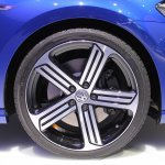 VW Golf R wheel at NAIAS 2014