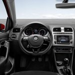 VW Polo facelift cockpit press image