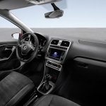 VW Polo facelift dashboard press image