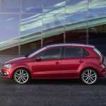 VW Polo facelift side press image