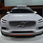 Volvo Concept XC Coupe front at NAIAS 2014