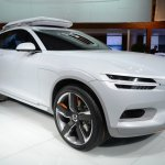 Volvo Concept XC Coupe front three quarters at NAIAS 2014