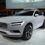 Volvo Concept XC Coupe front three quarters right at NAIAS 2014