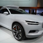 Volvo Concept XC Coupe front three quarters zoom in at NAIAS 2014
