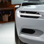 Volvo Concept XC Coupe headlamp close-up at NAIAS 2014