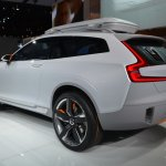 Volvo Concept XC Coupe rear three quarters left at NAIAS 2014