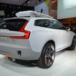 Volvo Concept XC Coupe rear three quarters right at NAIAS 2014