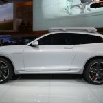 Volvo Concept XC Coupe side view at NAIAS 2014
