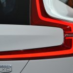 Volvo Concept XC Coupe taillamp element at NAIAS 2014
