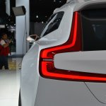 Volvo Concept XC Coupe taillight at NAIAS 2014