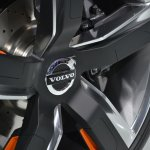 Volvo Concept XC Coupe wheel pattern at NAIAS 2014
