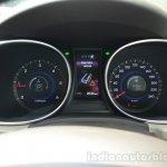 2013 Hyundai Santa Fe Review instrument cluster