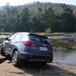 2013 Hyundai Santa Fe Review rear profile
