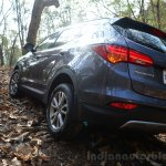 2013 Hyundai Santa Fe Review rear quarter