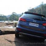 2013 Hyundai Santa Fe Review rear