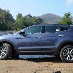2013 Hyundai Santa Fe Review side profile