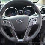 2013 Hyundai Santa Fe Review steering wheel