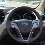 2013 Hyundai Santa Fe Review steering