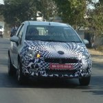 2014 Fiat Punto Facelift India spied IAB