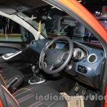 2014 Ford Figo dashboard at 2014 Auto Expo