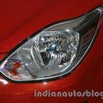 2014 Ford Figo headlamp at 2014 Auto Expo