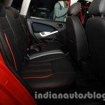 2014 Ford Figo rear seat at 2014 Auto Expo