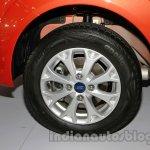 2014 Ford Figo wheel at 2014 Auto Expo