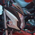 2014 Honda CB Trigger headlamp housing detail live