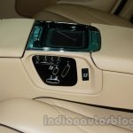 2014 Jaguar XJ center armrest rear at Auto Expo 2014