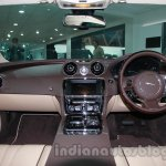 2014 Jaguar XJ dashboard at Auto Expo 2014