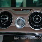 2014 Jaguar XJ front aircon vent at Auto Expo 2014