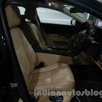 2014 Jaguar XJ front seats at Auto Expo 2014